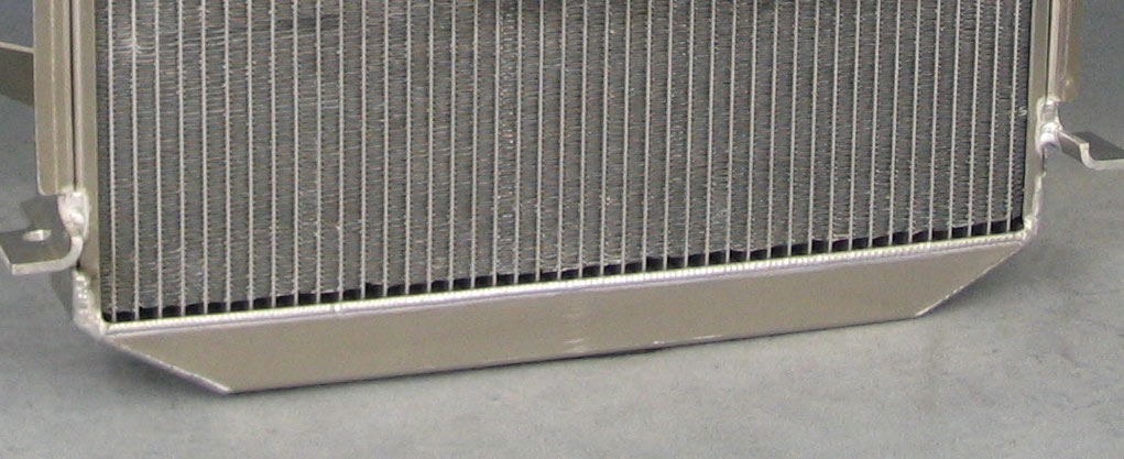 Custom Built Aluminum Radiators Ron Davis Racing Products